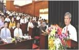 Khai mạc kỳ họp thứ 10 HĐND tỉnh Hưng Yên khóa XV