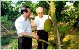 Nguyên Phó Thủ tướng Nguyễn Ngọc Trìu đặt nền móng cho kinh tế vườn