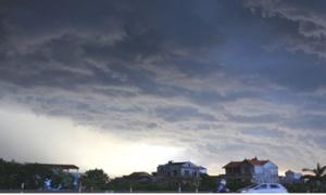 Cột ẩm của xoáy thấp tiếp tục gây mưa trên diện rộng cho các tỉnh phía Bắc