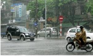 Chiều tối và đêm 25/8 ở các tỉnh Bắc Bộ khả năng xảy ra tố lốc, mưa đá và gió giật mạnh