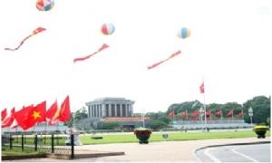 Ngày 1 và sáng 2/9, khu vực trung tâm Hà Nội không mưa