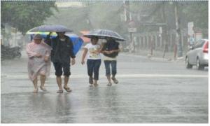 Xoáy thấp gây mưa ở Bắc bộ, Hải Phòng-Quảng Ninh có mưa to và dông