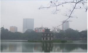Miền Bắc xuất hiện sương mù vào buổi sáng, miền Trung và miền Nam nhiệt độ cao nhất 34 độ