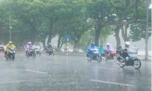 Nam Bộ có mưa rào và dông, khả năng vẫn xảy ra lốc xoáy, gió giật