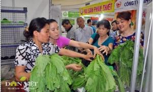 Nở rộ nông sản sạch, người tiêu dùng hưởng lợi