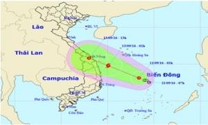24 giờ tới, áp thấp nhiệt đới có thể mạnh lên thành bão