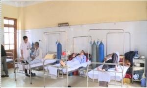 Nồm ẩm khiến nhiều người già ở Hưng Yên bị bệnh đường hô hấp