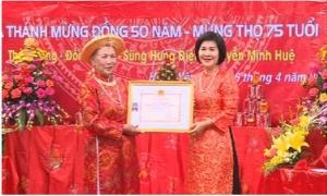 Trao tặng danh hiệu Nghệ nhân dân gian ở thành phố Hưng Yên