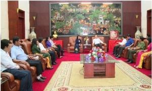Phó Chủ tịch nước Đặng Thị Ngọc Thịnh làm việc với lãnh đạo chủ chốt tỉnh Hưng Yên