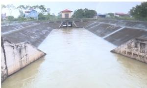 Các địa phương ở Hưng Yên chủ động gạn tháo nước phòng tránh úng ngập