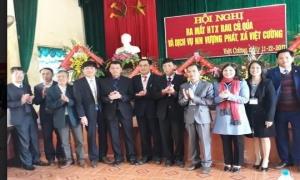 Xã Việt Cường  huyện Yên Mỹ ra mắt Hợp tác xã rau, củ, quả và dịch vụ nông nghiệp Vượng Phát.