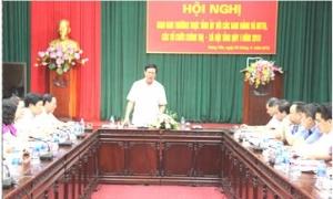 Thường trực Tỉnh ủy giao ban với các ban Đảng tỉnh, Văn phòng Tỉnh ủy và MTTQ, các đoàn thể chính trị - xã hội tỉnh