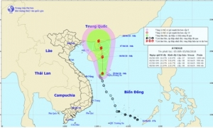 Áp thấp nhiệt đới khả năng mạnh lên thành bão, mưa sẽ tiếp diễn ở miền Bắc trong nhiều ngày tới