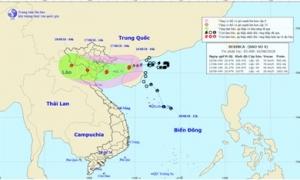 Bão số 4 giật cấp 11 đi vào vịnh Bắc Bộ, nguy cơ sạt lở đất và lũ quét ở vùng núi Bắc Bộ và Bắc Trung Bộ