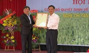Nghệ Chí Tân ở Khoái Châu được công nhận nhãn hiệu tập thể
