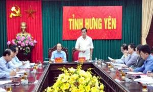 Đoàn công tác của Ban Chỉ đạo Đề án 61 Trung ương làm việc tại Hưng Yên