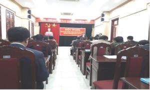 Hội Nông dân huyện Yên Mỹ tổng kết công tác hội và phong trào nông dân năm 2018.