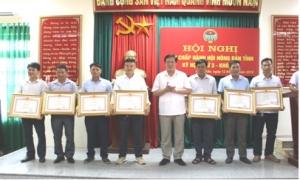Hội Nông dân Hưng Yên: 8 hội viên nông dân được nhận bằng khen của Thủ tướng.