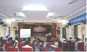 Hưng Yên: Tập huấn chuyển giao KHKT cho hơn 100 hội viên nông dân.